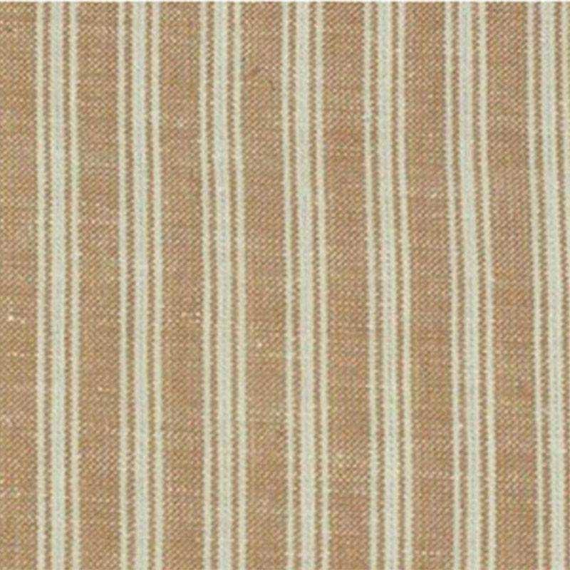 Tessuto Tinto in Filo - Wheat and Cream Stripe - 1