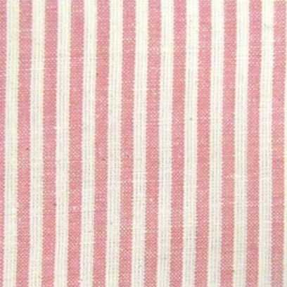 Tessuto Tinto in Filo - Petal Pink Candy Stripe - 1
