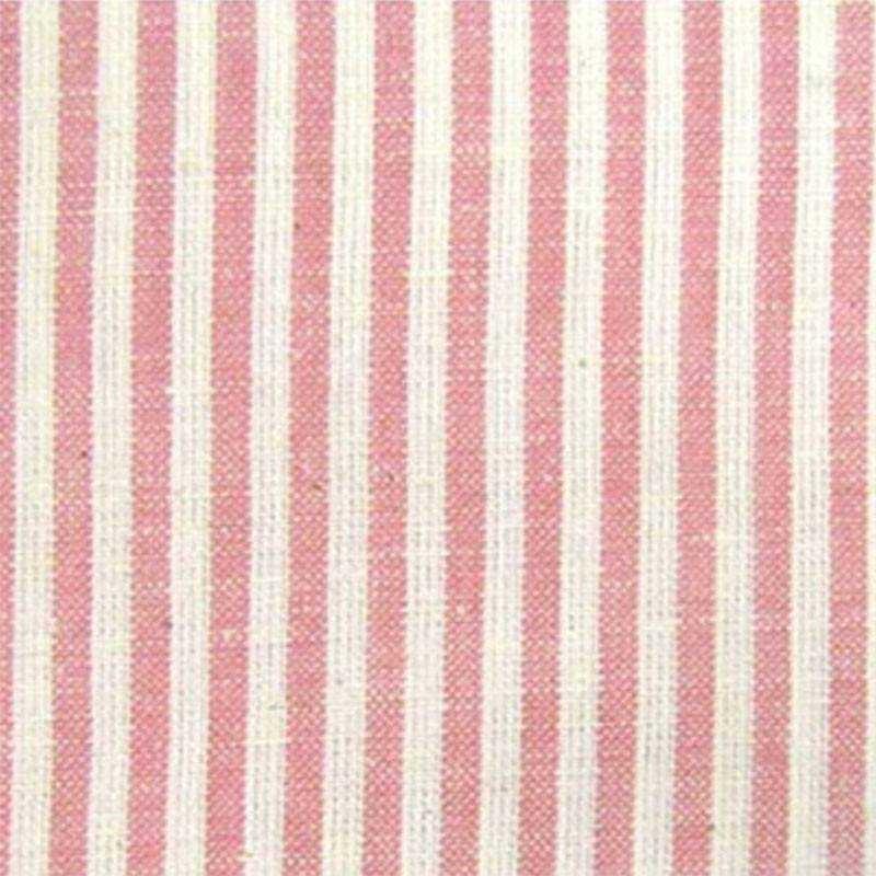 Tessuto Tinto in Filo - Petal Pink Candy Stripe - 1