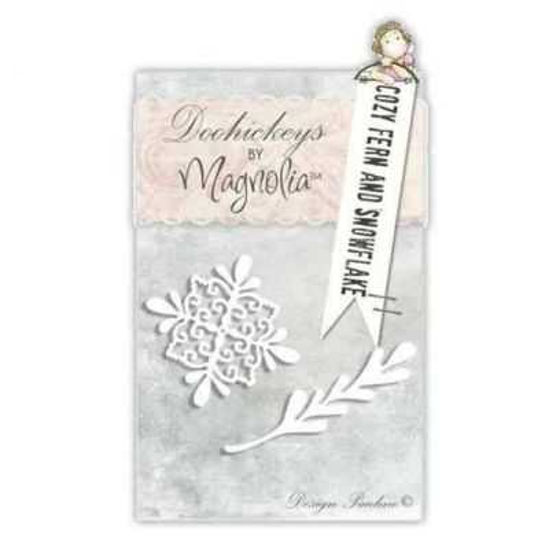 Fustella Magnolia Piuma e Fiocco di Neve - 1