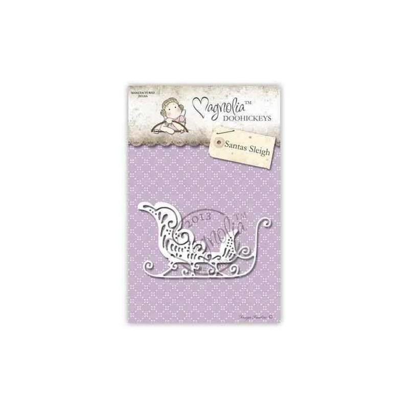 Fustella Magnolia Slitta - Santas Sleigh