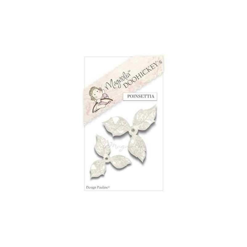 Fustella Magnolia Stella di Natale - Poinsettia - 1