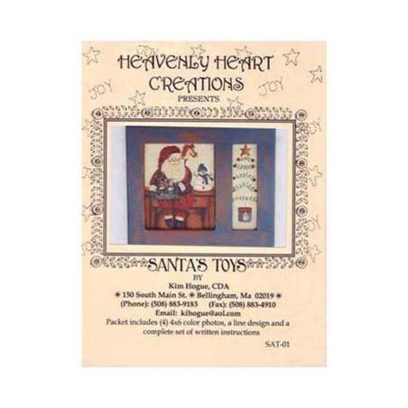 Pattern Kim Hogue - Santa's Toys - 2