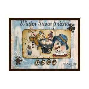Pattern Kim Hogue - Winter Snow Friends - 2