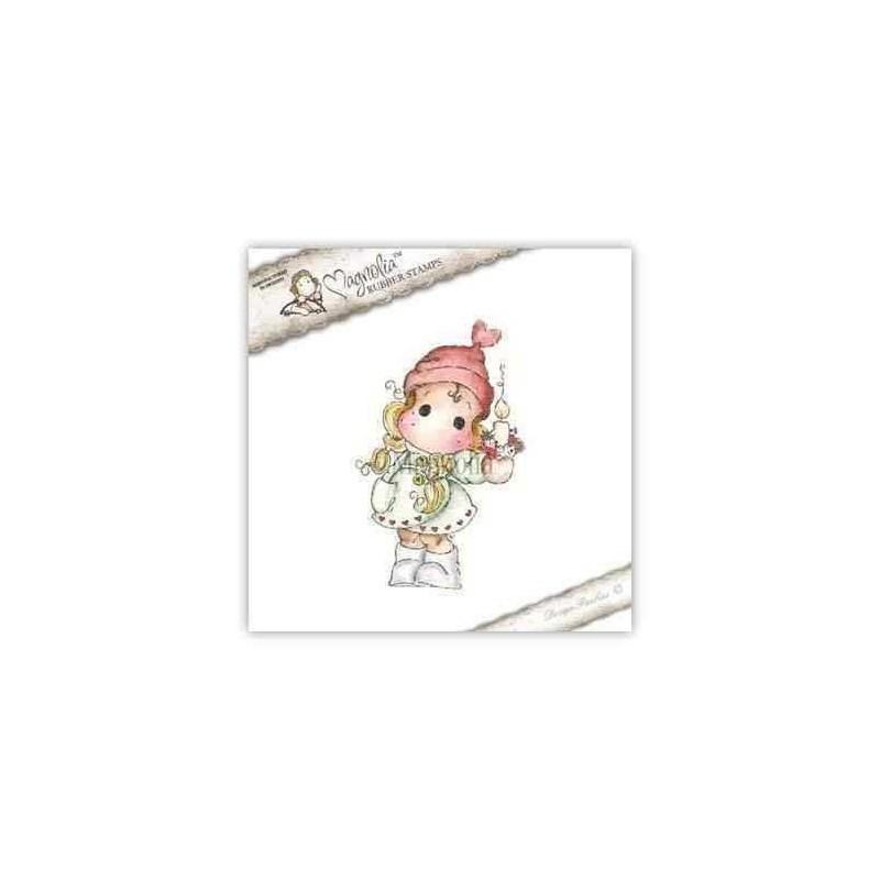 Timbro Magnolia - Christmas Candle Tilda - 1
