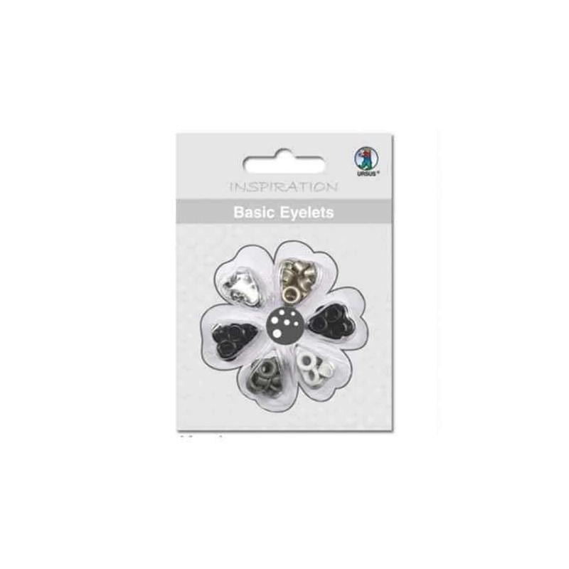 Basic Eyelets Black - 1