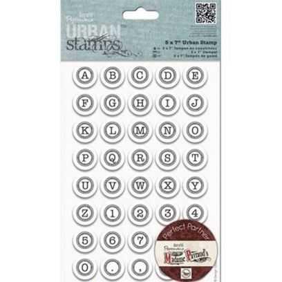 "Urban Stamps - Timbro Alfabeto -  ""Typewriter"" - 1"