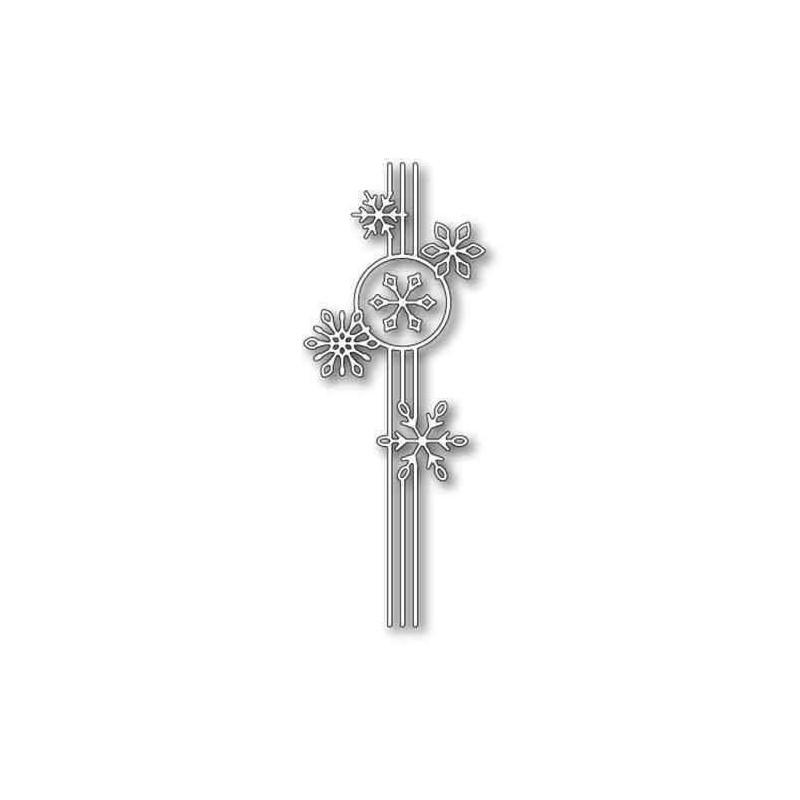 Fustella Nastro con Fiocchi di Neve -...