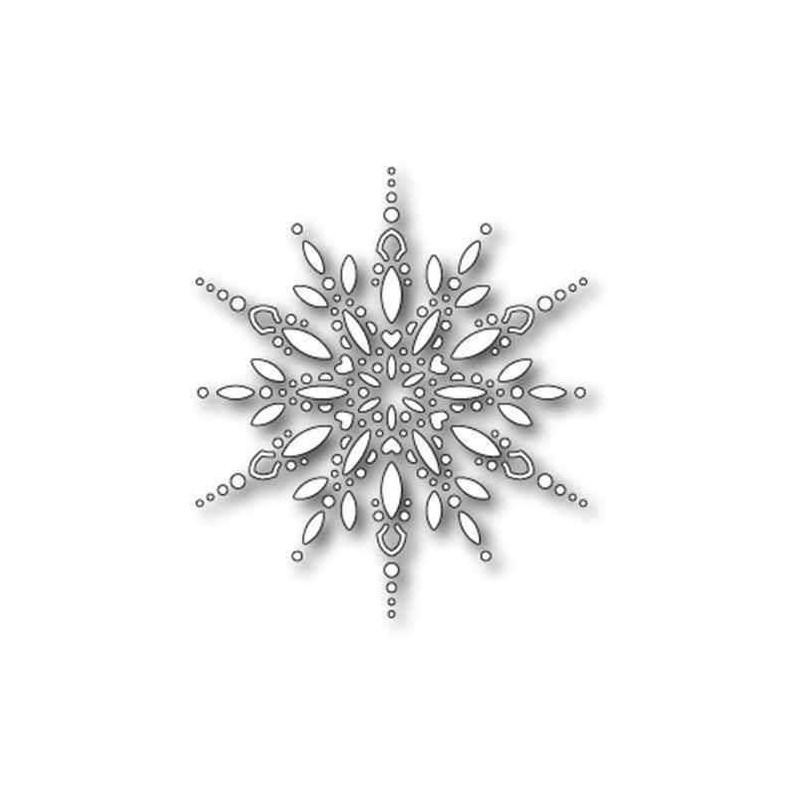 Fustella Fiocco di Neve Grande - Spectacular Snowflake - 1