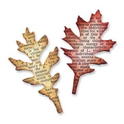 Fustella Foglie - Movers & Shapers Mini Tettared Leaves Set - 1