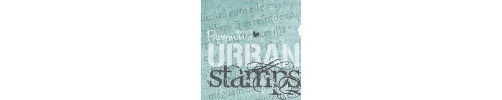 "Timbri - Clear e Rubber Stamps ""Urban Stamps""."